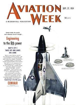 Cover for the September 27 1954 issue