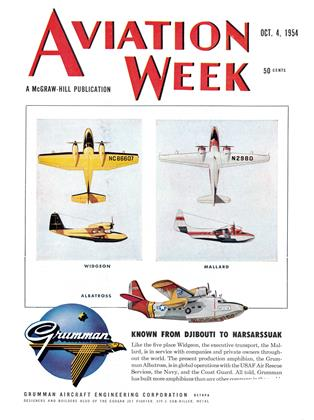 Cover for the October 4 1954 issue