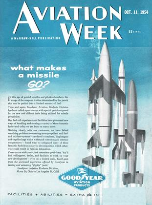 Cover for the October 11 1954 issue