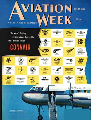 Cover for the October 25 1954 issue