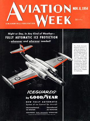 Cover for the November 8 1954 issue