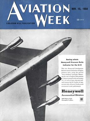 Cover for the November 15 1954 issue