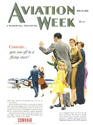 Cover for the November 22 1954 issue