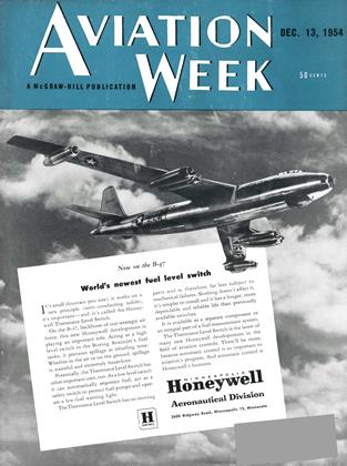 Cover for the December 13 1954 issue