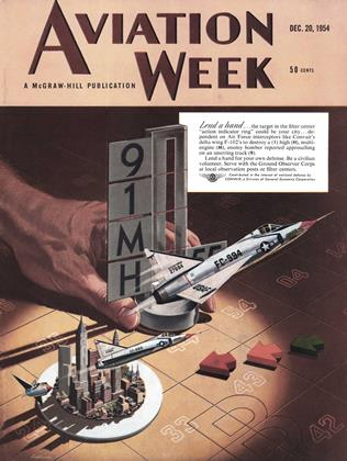 Cover for the December 20 1954 issue