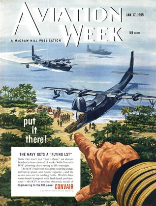 Cover for the January 17 1955 issue