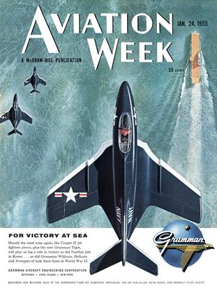 Cover for the January 24 1955 issue