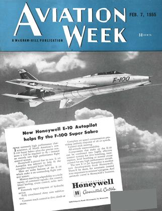 Cover for the February 7 1955 issue