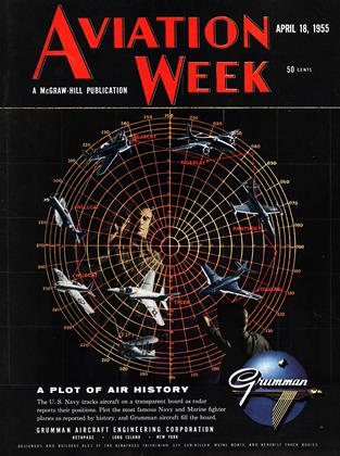 Cover for the April 18 1955 issue