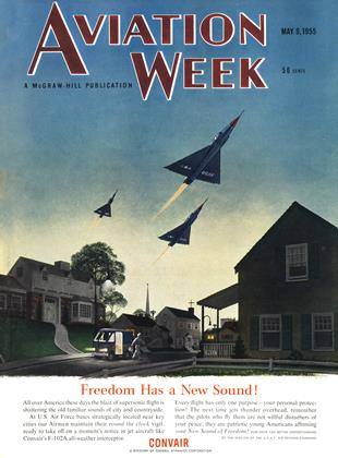Cover for the May 9 1955 issue