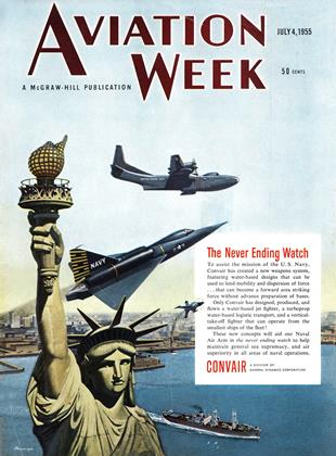 Cover for the July 4 1955 issue