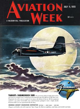 Cover for the July 11 1955 issue