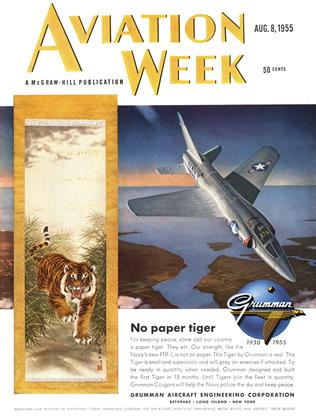 Cover for the August 8 1955 issue