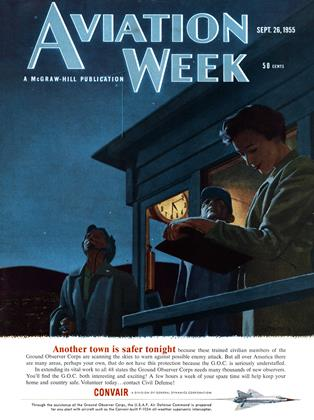 Cover for the September 26 1955 issue