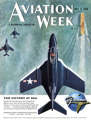 Cover for the October 3 1955 issue