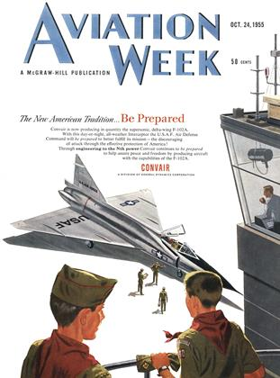 Cover for the October 24 1955 issue