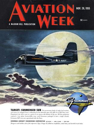 Cover for the November 28 1955 issue