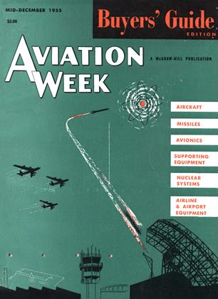 Cover for the MID-DECEMBER 1955 issue