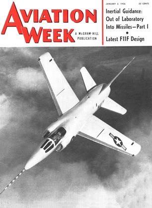 Cover for the January 2 1956 issue
