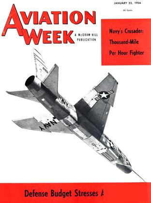 Cover for the January 23 1956 issue