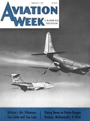 Cover for the February 6 1956 issue