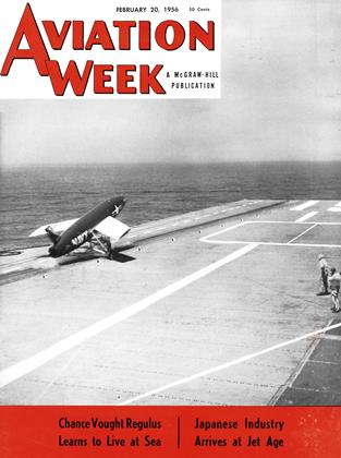Cover for the February 20 1956 issue