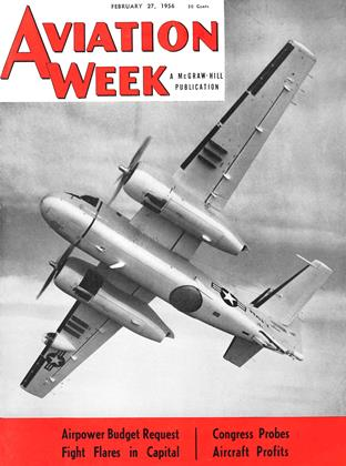 Cover for the February 27 1956 issue