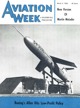 Cover for the March 5 1956 issue