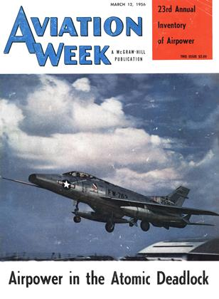Cover for the March 12 1956 issue