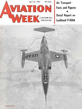 Cover for the April 23 1956 issue