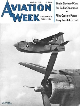 Cover for the April 30 1956 issue