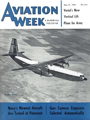 Cover for the May 21 1956 issue