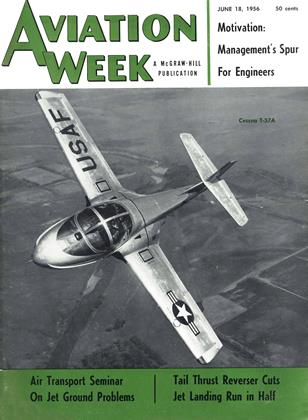 Cover for the June 18 1956 issue