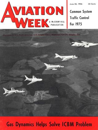Cover for the June 25 1956 issue