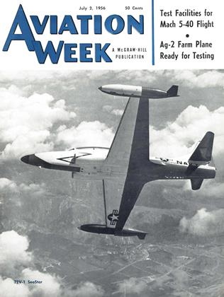 Cover for the July 2 1956 issue