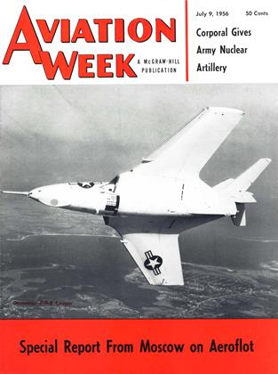 Cover for the July 9 1956 issue