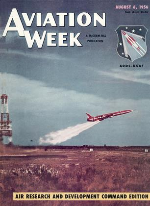 Cover for the August 6 1956 issue