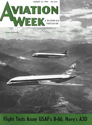 Cover for the August 13 1956 issue