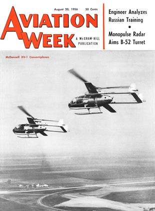Cover for the August 20 1956 issue