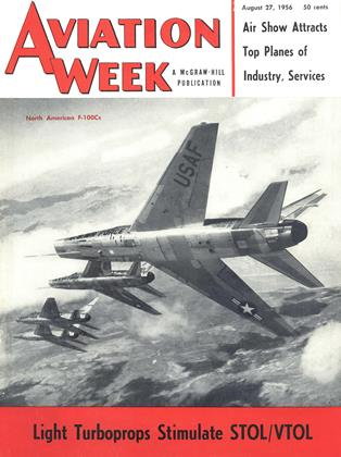 Cover for the August 27 1956 issue
