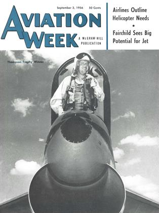 Cover for the September 3 1956 issue