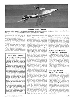 Helio Test Contract, Page: 27 - October 8, 1956 | Aviation Week
