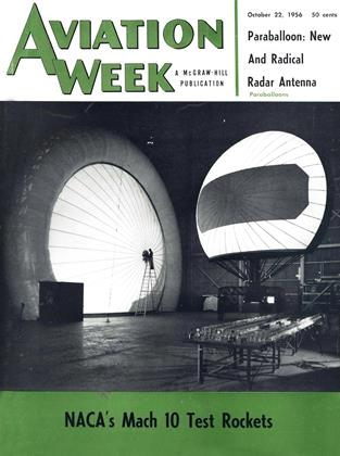 Cover for the October 22 1956 issue