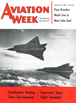 Cover for the October 29 1956 issue