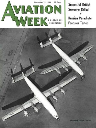 Cover for the November 19 1956 issue