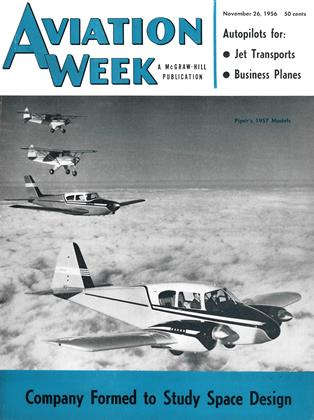 Cover for the November 26 1956 issue