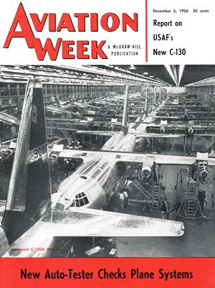 Cover for the December 3 1956 issue