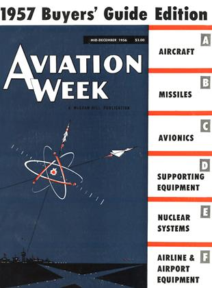 Cover for the MID-DECEMBER 1956 issue