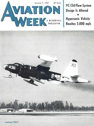 Cover for the January 7 1957 issue