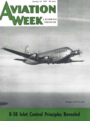 Cover for the January 14 1957 issue
